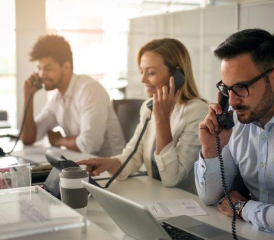 Service-Profis am Telefon rund um die Uhr – Callcenter von SecuConcept